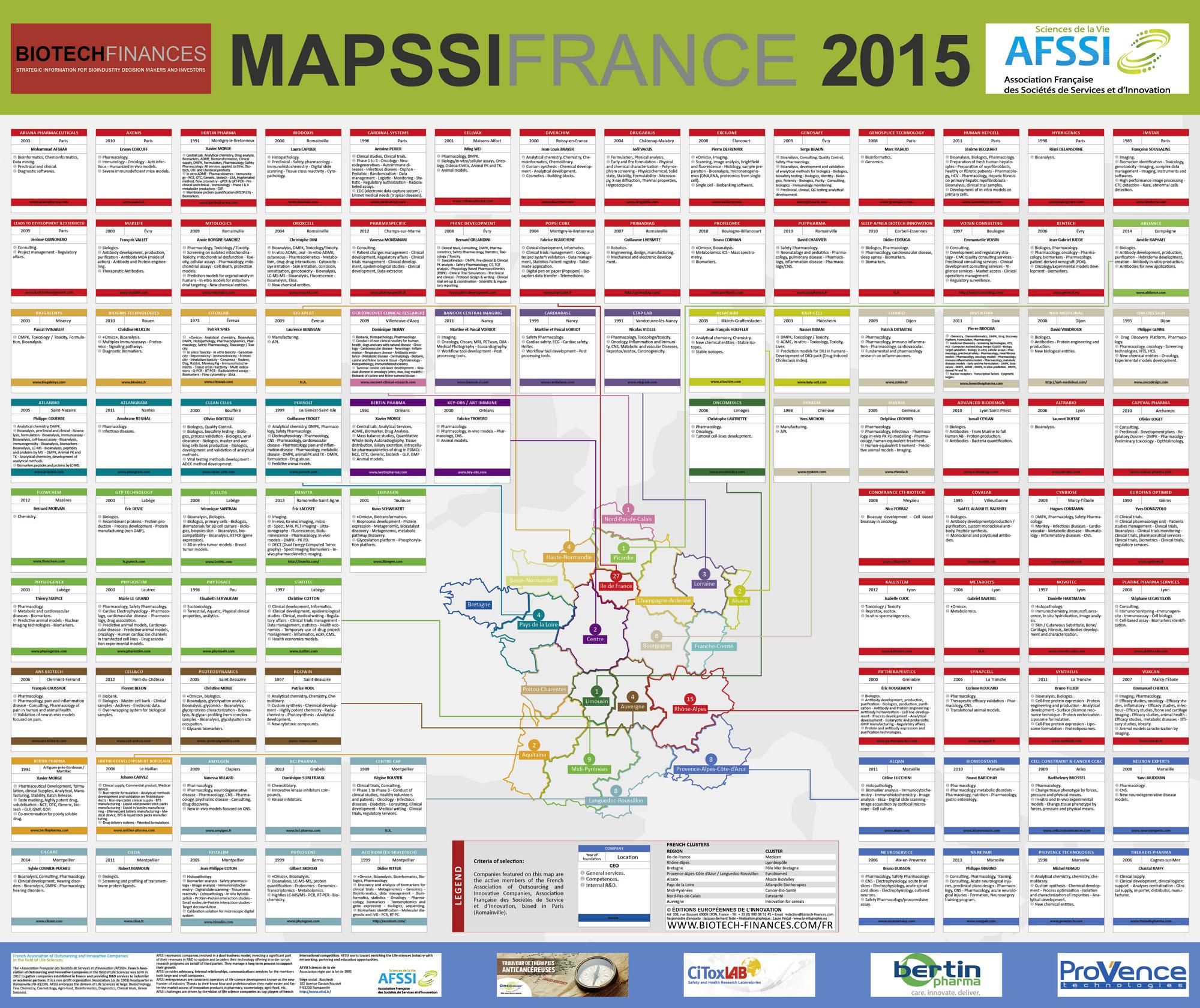 MAPSSI 2015 en partenariat avec Biotech Finances