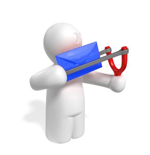 Relais par emailing