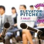 Session élevator pitches des AFSSI Connexions.. Présentez vos innovations santé en 2 minutes