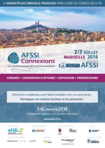 Flyer AFSSI Connexions - Les rencontres annuelles de la recherche préclinique
