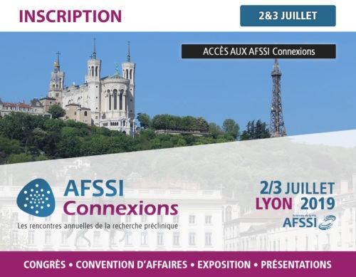 Inscriptions - AFSSI Connexions - Les rencontres annuelles de la recherche préclinique