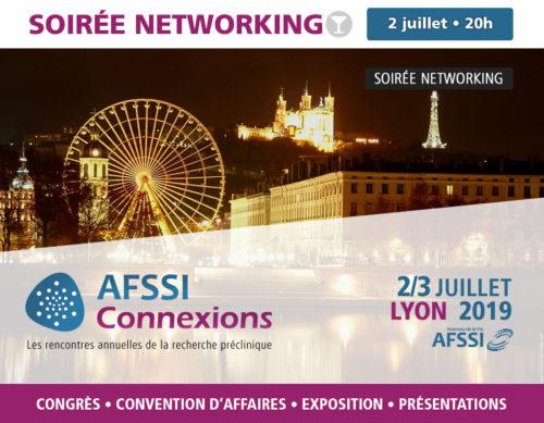 Soirée Networking - AFSSI Connexions - Les rencontres annuelles de la recherche préclinique