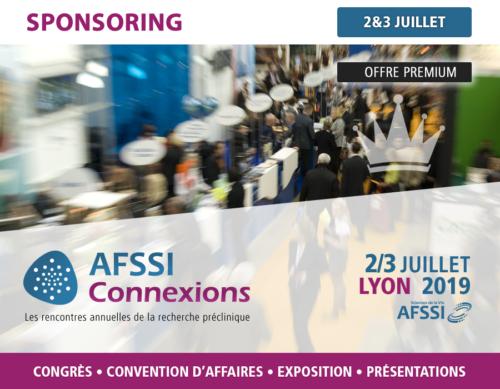 Sponsoring - AFSSI Connexions - Les rencontres annuelles de la recherche préclinique